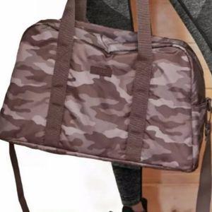 Victoria's Secret PINK Camo Duffel Bag NWT